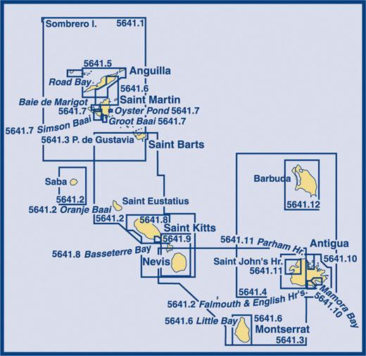 SC5641 Sombrero Island to Montserrat & Antigua